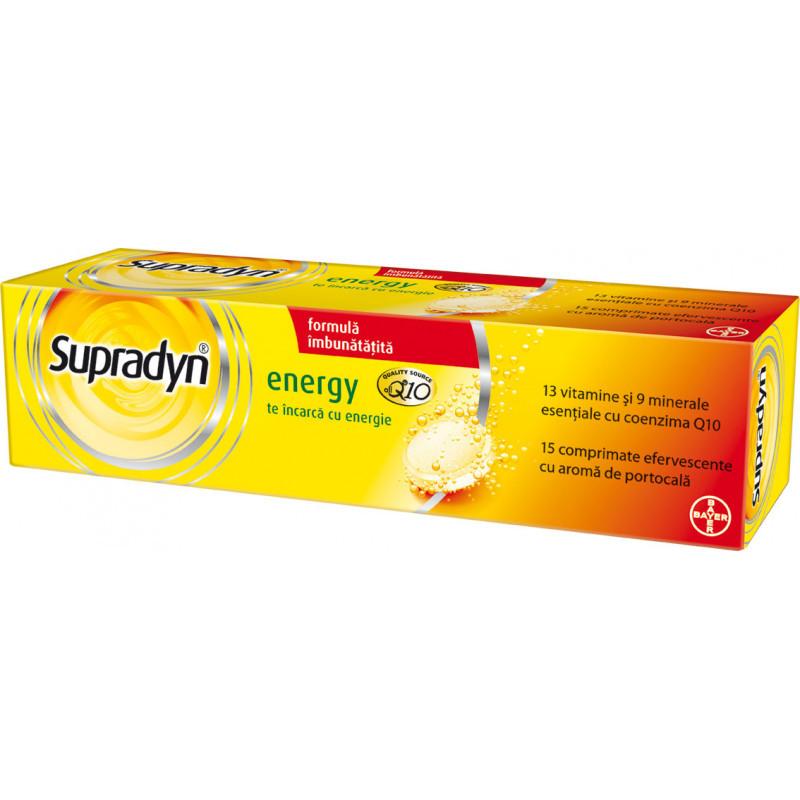 SUPRADYN ENERGY, 13 vitamine si 9 minerale, mentine nivelul