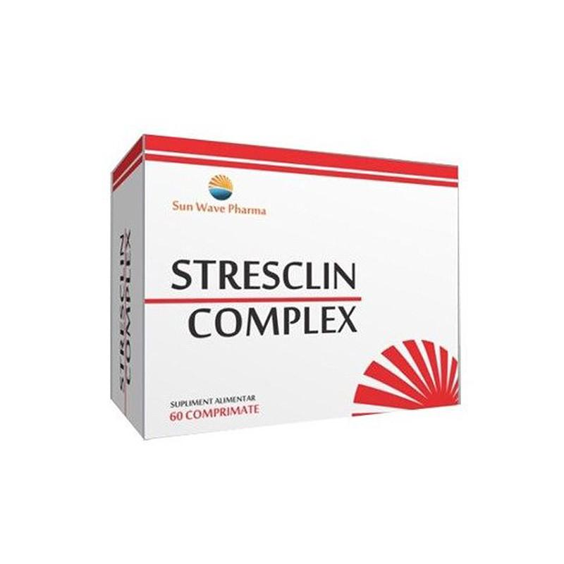 STRESCLIN COMPLEX, produs 100% natural, anxietate, stres, de