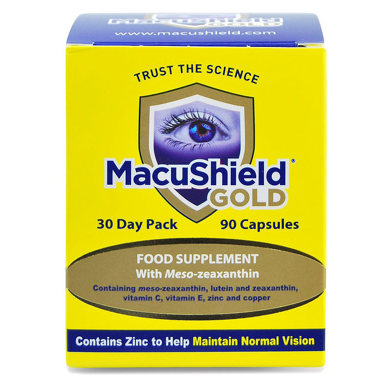 MACUSHIELD GOLD, luteina 10 mg, mentinerea vederii normale,