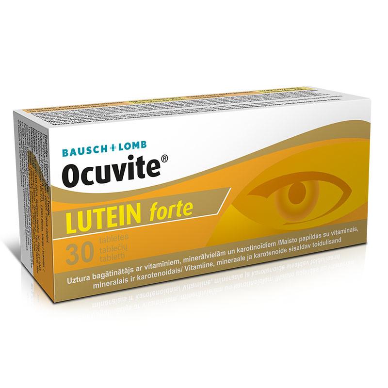 OCUVITE LUTEIN FORTE, luteina, vitamina c, mentine sanatatea