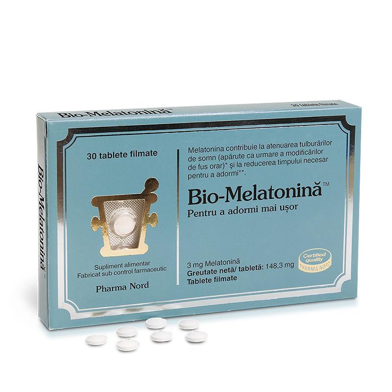BIO-MELATONINA, melatonina, atenuarea tulburarilor de somn,