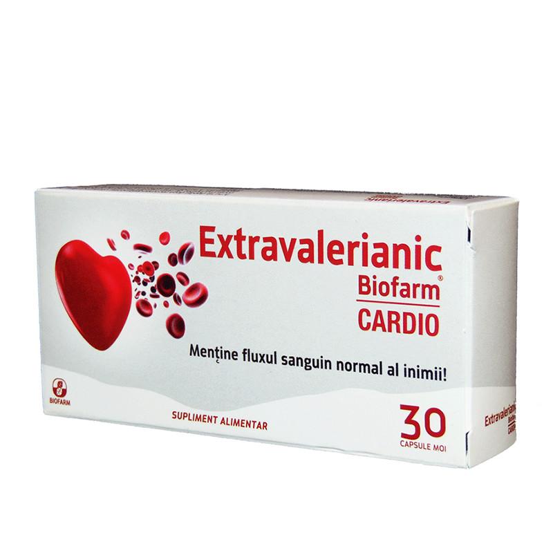 EXTRAVALERIANIC CARDIO, isovalerat de metil in mentol, sanat