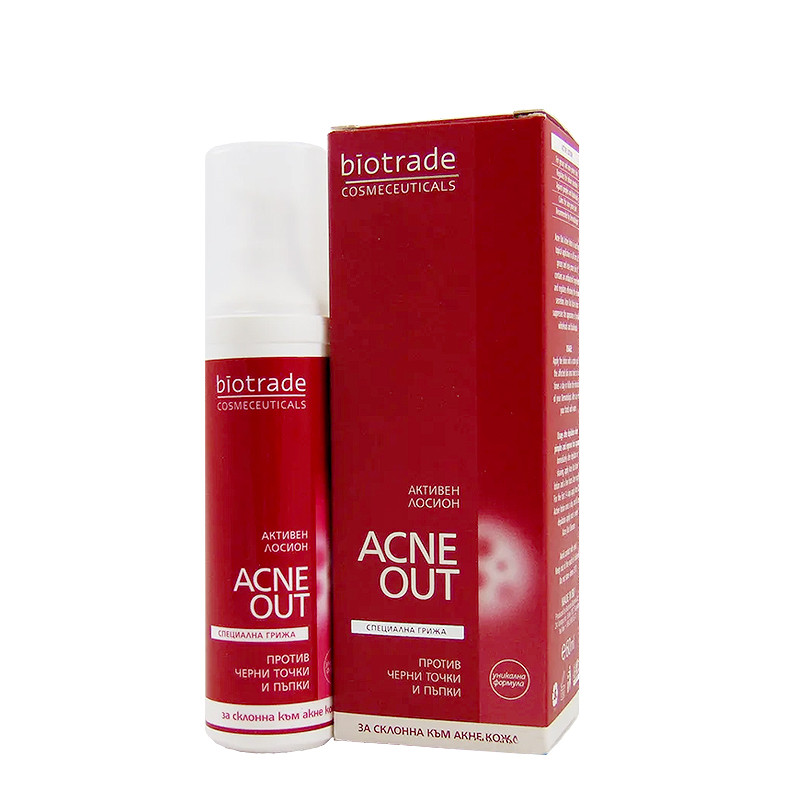 ACNE OUT LOTIUNE ACTIVA, complex puternic antibacterian, acn