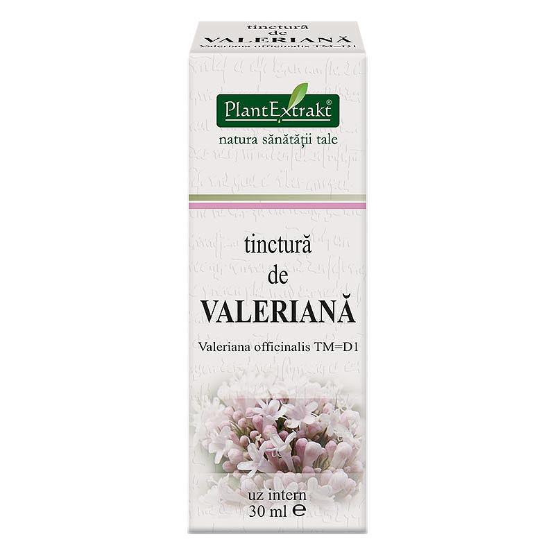 TINCTURA VALERIANA, extract vegetal concentrat, FLACON, 30 m
