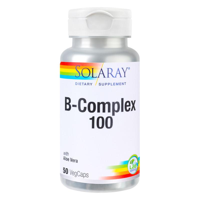 B-COMPLEX 100MG, sanatatea sistemului nervos, metabolism ene