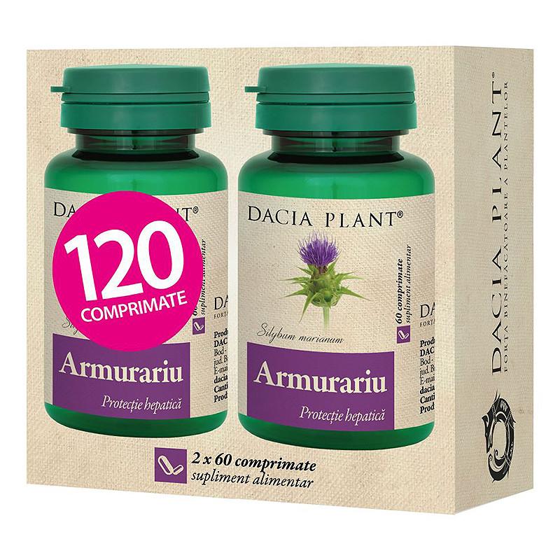 ARMURARIU, Silybum marianum, detoxifiere si regenerare hepat