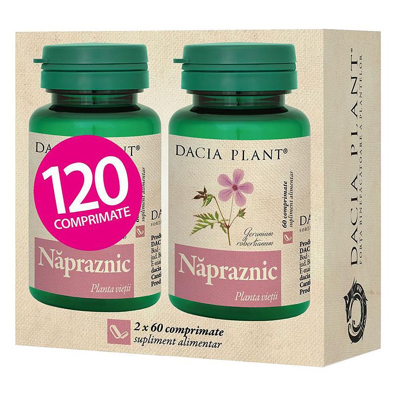 NAPRAZNIC, Geranium robertianum, mentinerea procesului de mu