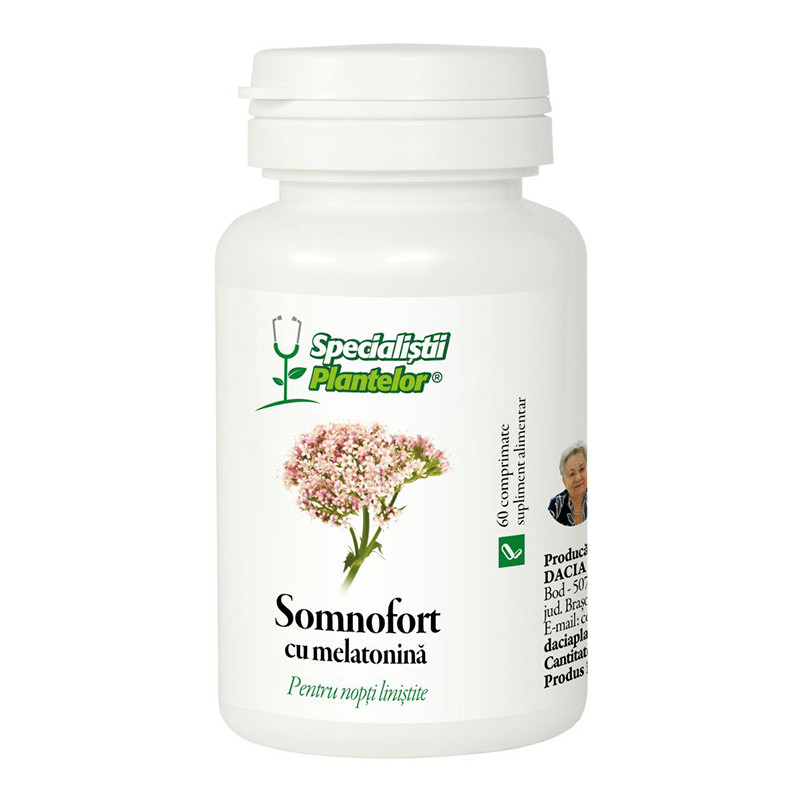 SOMNOFORT, extracte naturale, instalarea si calitatea somnul