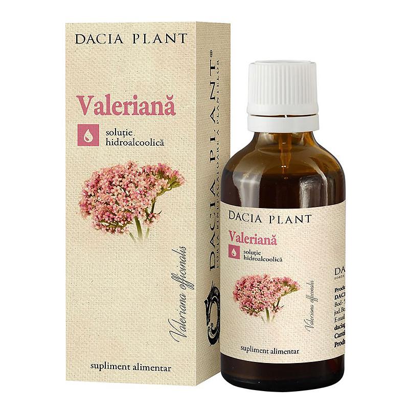 TINCTURA VALERIANA, Valeriana officinalis, tensiuni psihice,