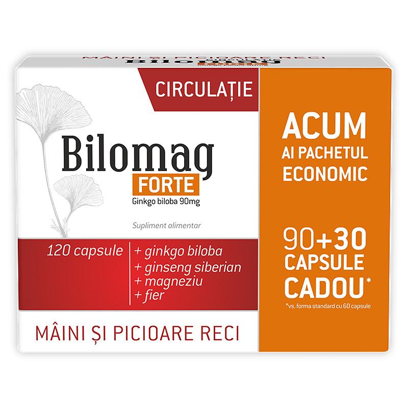 BILOMAG FORTE CIRCULATIE, ginko biloba, lecitina, vitamina B
