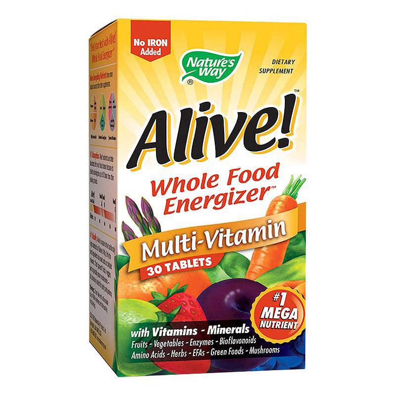ALIVE (FARA FIER), complex de vitamine si minerale, imunosti