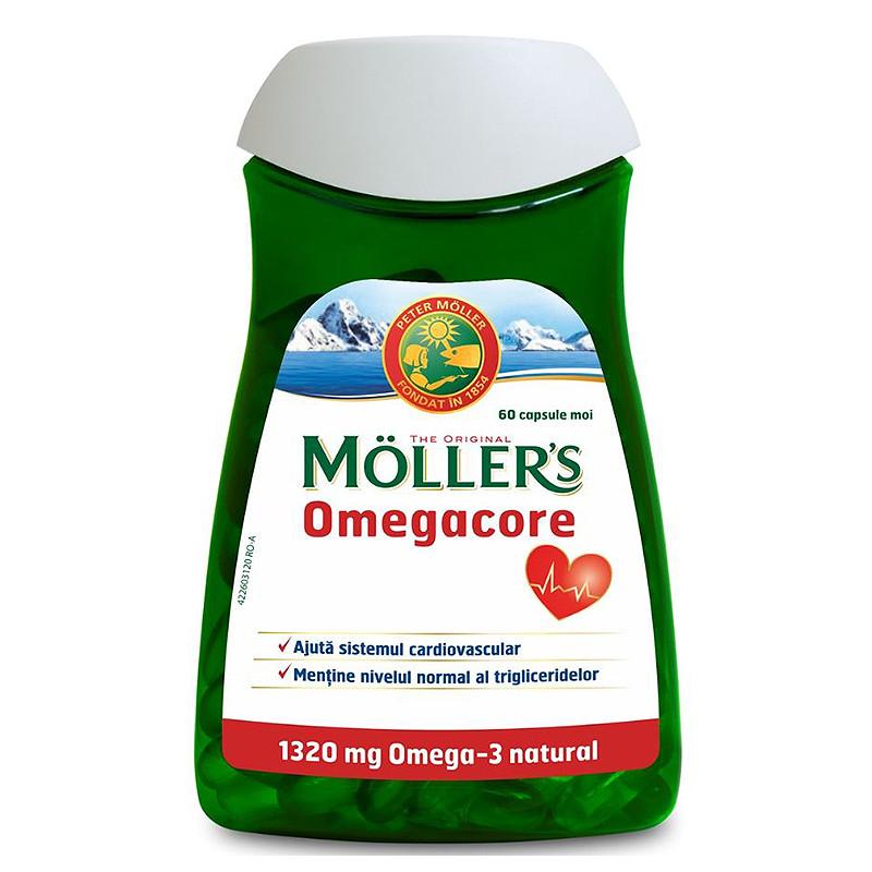 Omega 3 norvegian ulei din ficat de cod mg, 30 capsule : Farmacia Tei online
