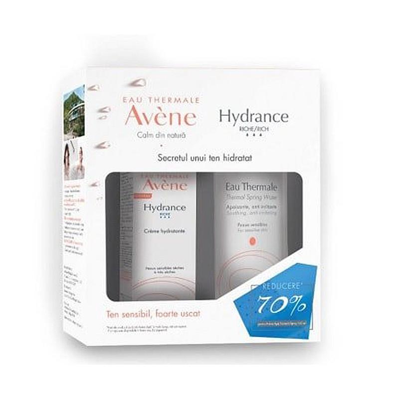 PACHET PROMO AVENE HYDRANCE RICHE COHEDERM 40 ML + APA TERMA