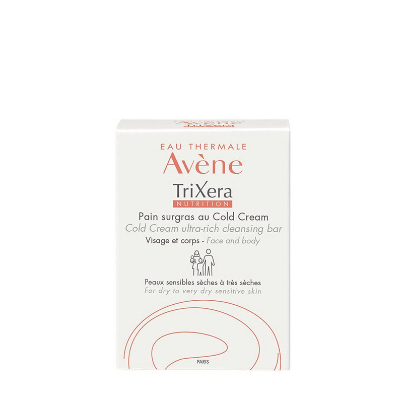 AVENE TRIXERA NUTRITION SAPUN, Cold Cream, 100 grame, PIERRE