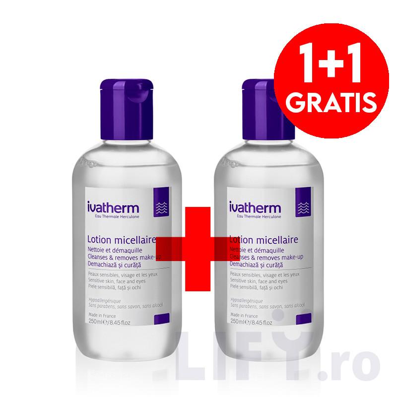 PACHET PROMO LOTIUNE MICELARA (1+1 GRATIS), alantoina, demac