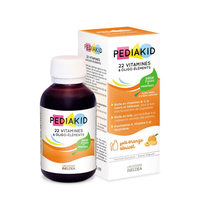 PEDIAKID 22 VITAMINES & OLIGO-ELEMENTS, vitamine, minerale,