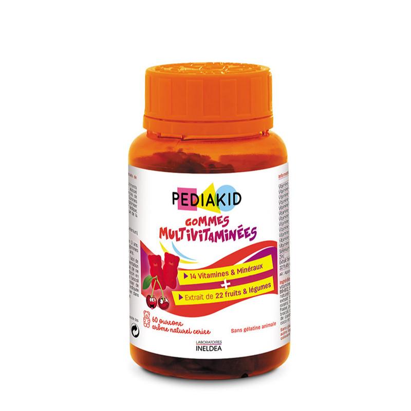 PEDIAKID MULTIVITAMINE, vitamine, oligoelemente, comprimate,