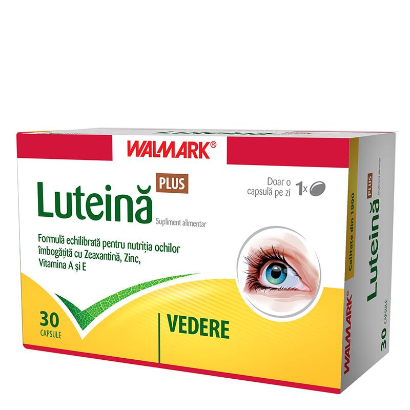 LUTEINA PLUS, pentru persoanele care suprasolicita vederea (