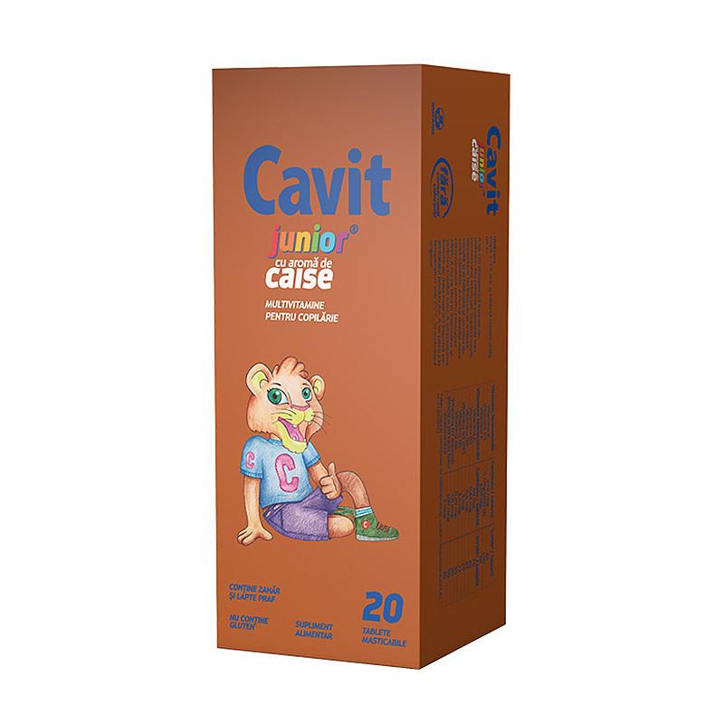 CAVIT JUNIOR CAISE, complex multivitamine, reducerea oboseli