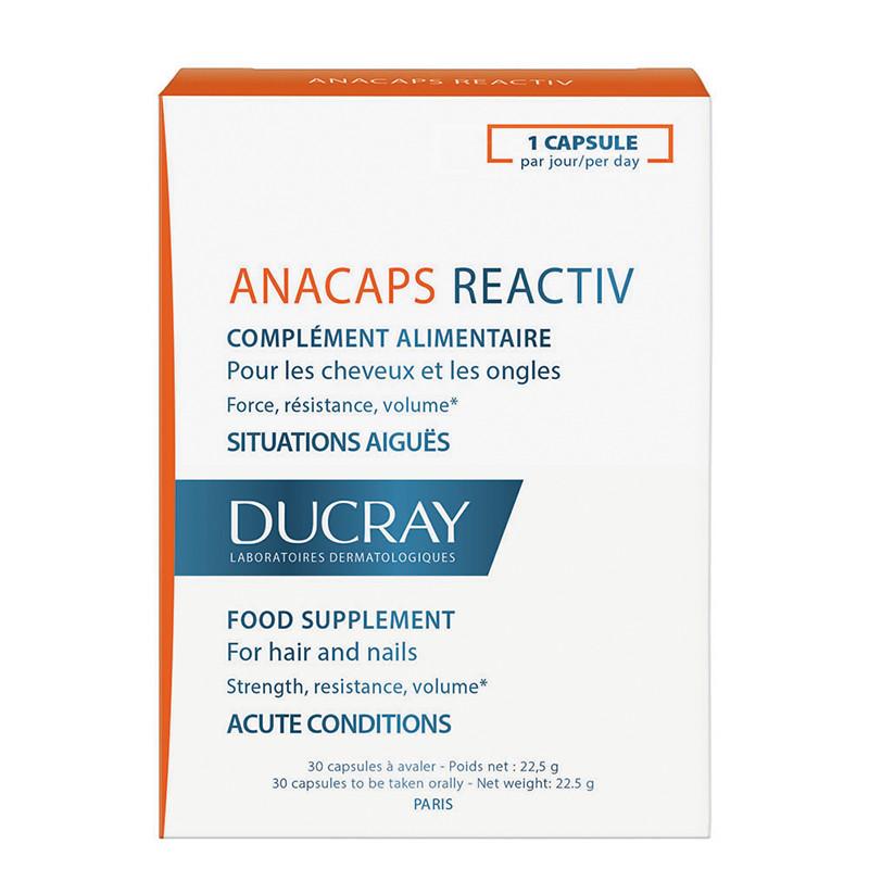 DUCRAY ANACAPS REACTIV, metionina, cistina, caderea ocaziona