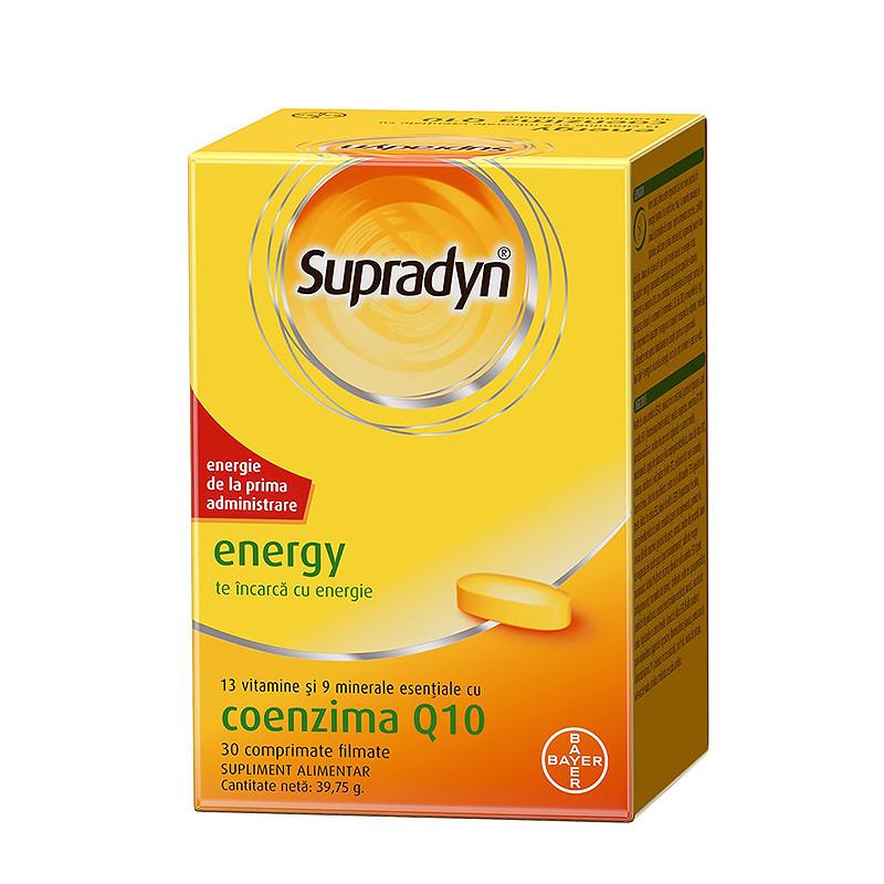 SUPRADYN ENERGY Q10, energie, oboseala, astenie, activitati