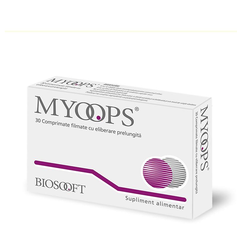MYOOPS, mentine microcirculatia de la nivelul ochilor, susti