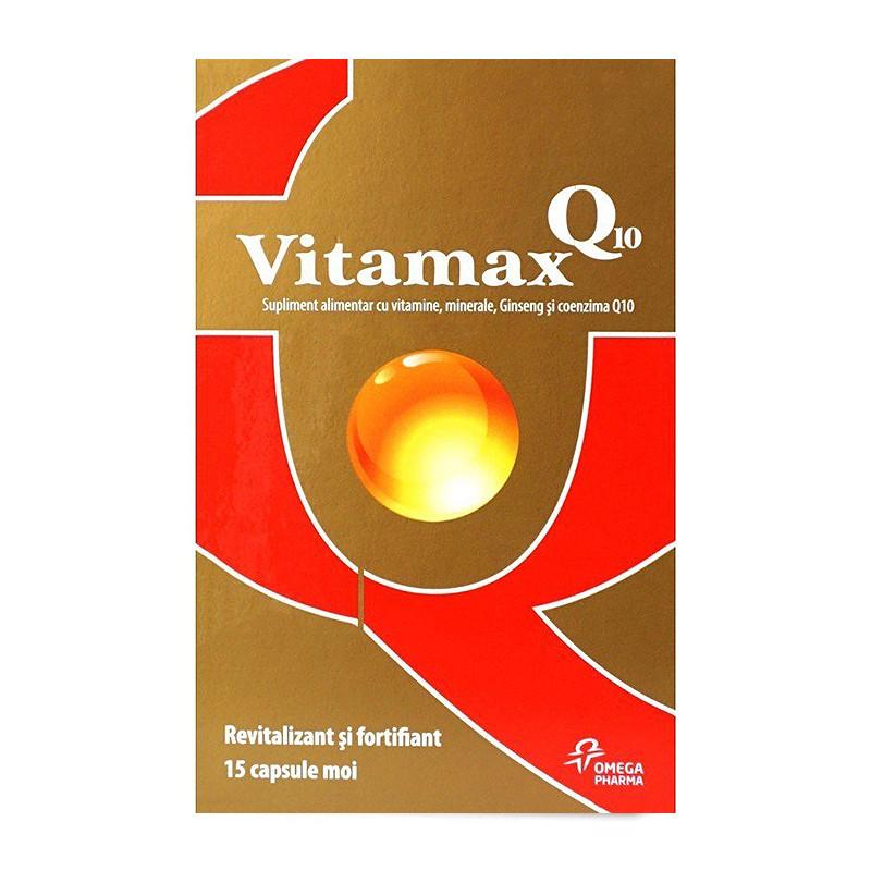 VITAMAX Q10, vitamine, minerale, ginseng, coenzima Q10, cres