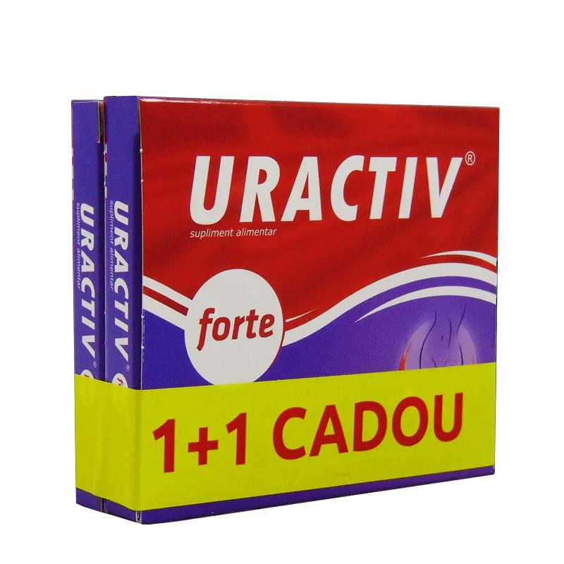 PACHET PROMO, URACTIV FORTE 10 CPS, 1+1 GRATUIT, durere, uri