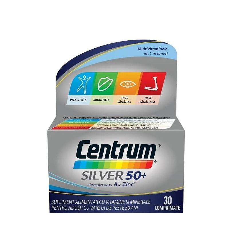 CENTRUM SILVER 50, multivitamine si minerale, vitalitate, im
