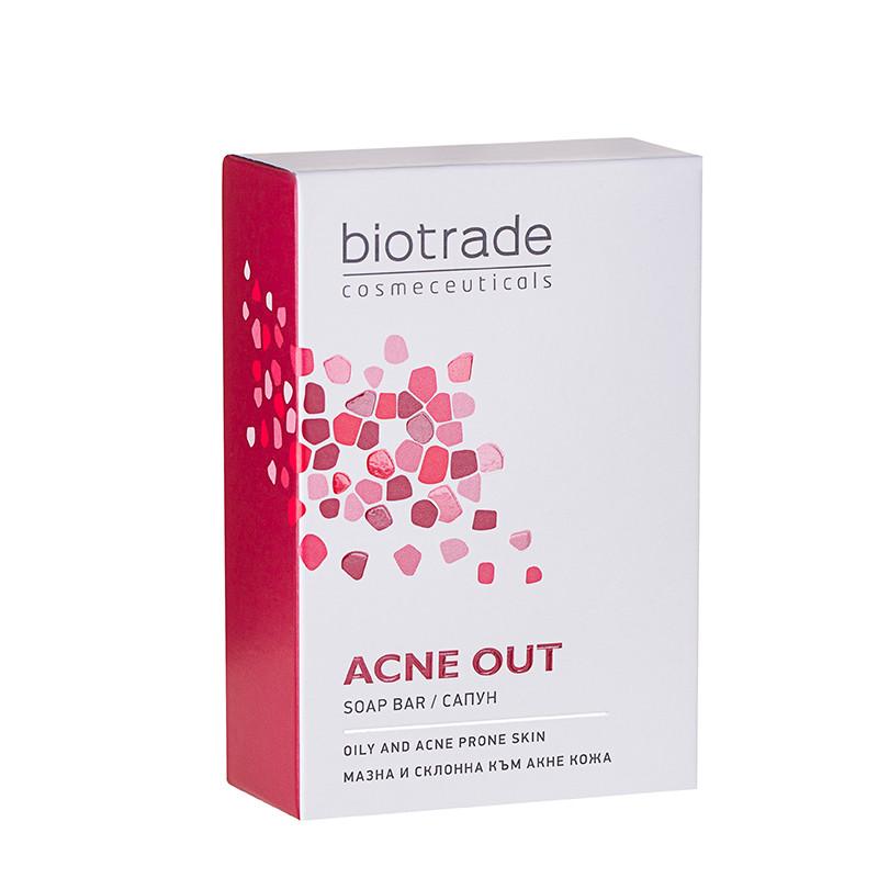ACNE OUT SAPUN, acid salicilic, purifiant, piele grasa acnei