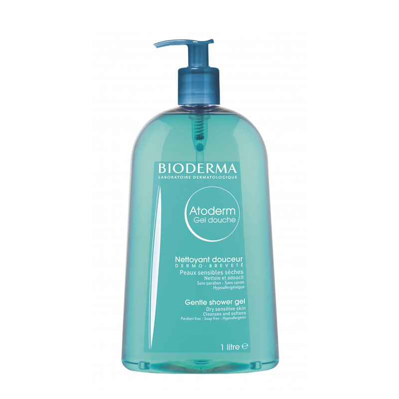 ATODERM GEL SPUMANT, complexul Skin Protect, curata delicat
