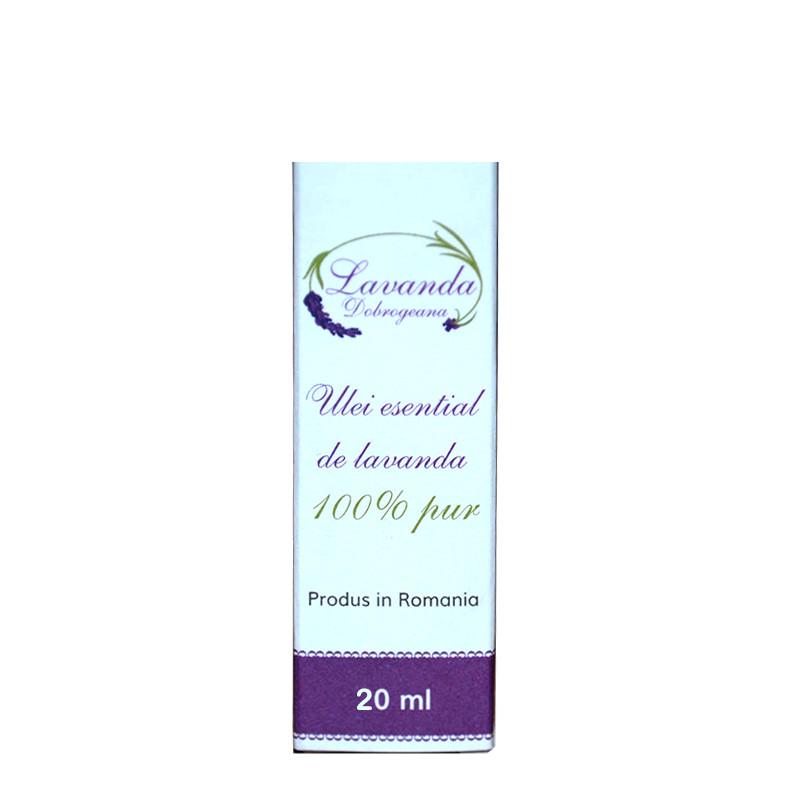 LAVANDA DOBROGEANA ULEI ESENTIAL, lavanda, aromaterapie, fla