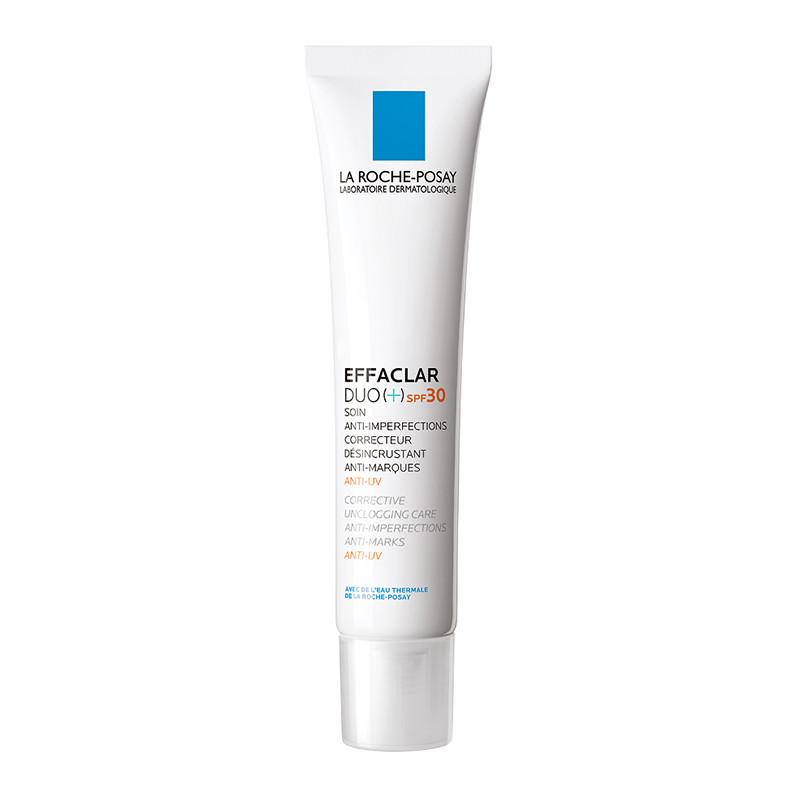 EFFACLAR DUO SPF30, tehnologia XL-PROTECT, niacinamida, zinc