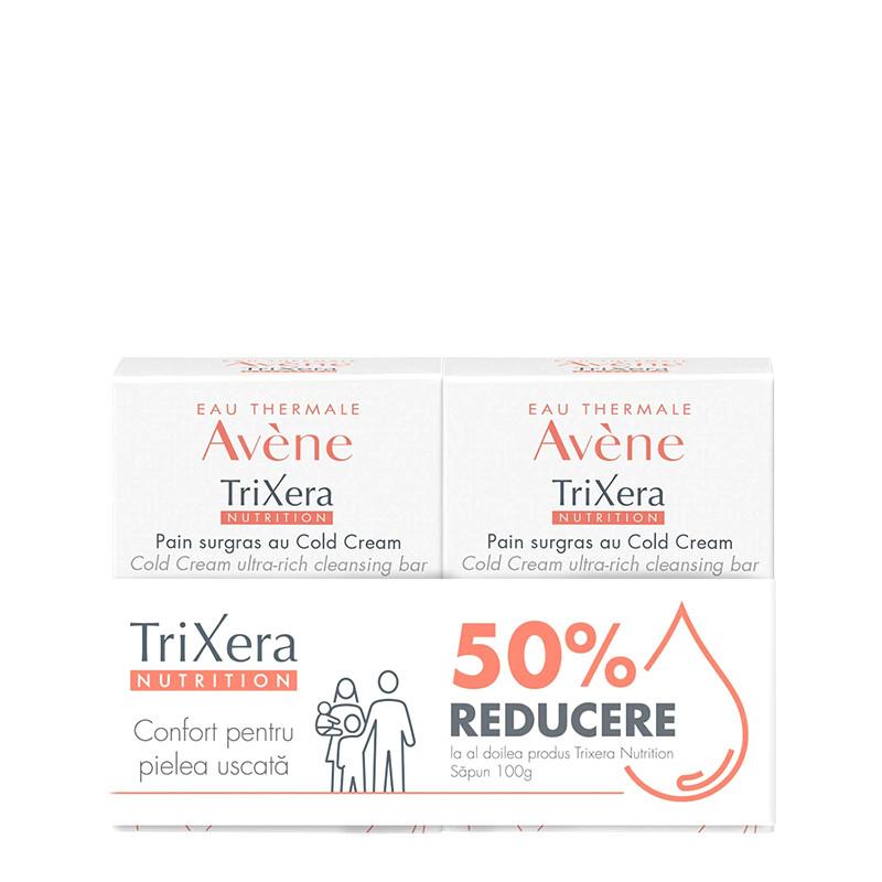 PACHET PROMO AVENE, TRIXERA NUTRITION SAPUN, 1+1 -50%, selec