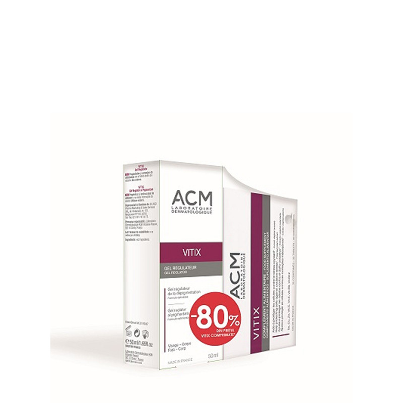PACHET PROMO ACM, VITIX GEL 50ML + VITIX 30 COMPRIMATE - 80%