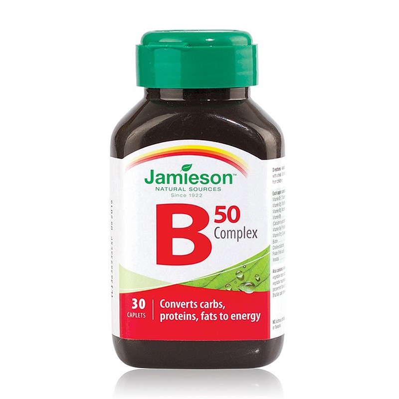 B 50 COMPLEX, complex vitamine B, energie, stres, comprimate