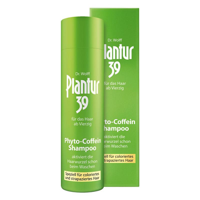 PLANTUR 39 CAFFEINE SHAMPOO COLOR, pentru par vopsit, cafein